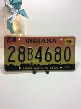 Vintage Indiana License Plate -  - Single Plate 1998 image 2
