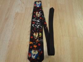 Men's Looney Tunes Valentine's Vintage 1994 Tie Looney Tunes Mania Warner Bros - $9.49