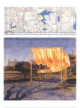 Javacheff Christo-The Gates III-2005 Poster - $70.13