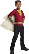 Boys Shazam Movie Child'S Costume Top & Hooded Cape, Large - $24.75