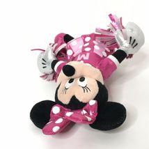 "Ty Sparkle Minnie Cheerleader Disney Beanie Plush Stuffed Animal 9"" Tall image 5"