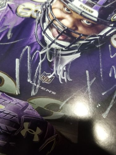 Baltimore Ravens GAME DAY Program Multi Autographs Brandon Carr, Cyrus Jones, Ty image 6