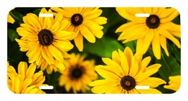 Sun Flower Sunflower USA Metal Black License Plate holder tag - $9.99
