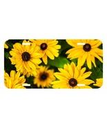 Sun Flower Sunflower USA Metal Black License Plate holder tag - £7.26 GBP