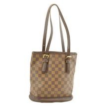 LOUIS VUITTON Damier Marais Bucket Shoulder Bag N42240 LV Auth 8490 - $360.00