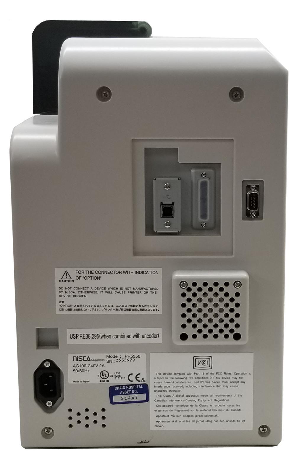 Nisca PR 5350 Dual Sided ID Card Printer Bin:2