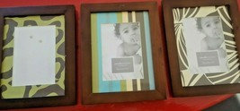 """Never Used Couture Baby Bali Crib Bedding 4"""" x 6"""" Set of 3 Picture Frame... - $18.81"""