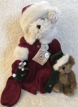Boyds Bears Tasha B Frostbeary Stephen Tweek With Stand Tags LE Retired 900205 - $74.24