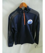 NWT Edmonton Oilers G-III Sports by Carl Banks Mens 1\4 Zip Jacket Size ... - $39.99