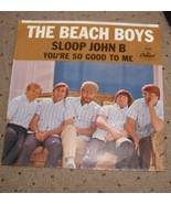 Beach Boys You're So Good To Me Sloop John B. 7 Picture SLEEVE ONLY NO R... - $14.99