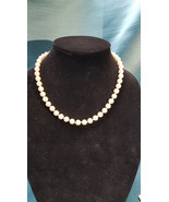 """Pearl Simulated Vintage 18"""" Necklace - $12.99"""