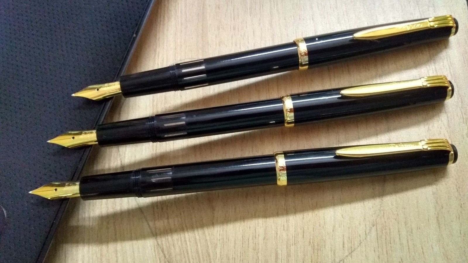 Lot of 3 pc Reform Fountain pen- iridium tipped, Piston filler, NEVER USED