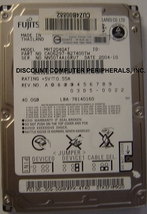 """Fujitsu MHT2040AT 40GB 2.5"""" 9.5MM IDE 44PIN Hard Drive NEW"""