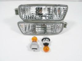 New PAIR 2001 2002 2003 2004 Toyota TACOMA Turn Signal Light Lamp & new Bulb - $40.57