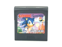 Sonic the Hedgehog Sega Game Gear 1991 Cartridge Only Classic Retro Vintage - $4.92