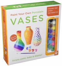 MindWare Paint Your Own Vases - $21.34