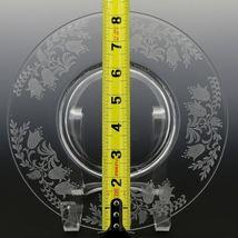 Tiffin Fuchsia Elegant Glass Plate Luncheon Plates a set of 8 image 3