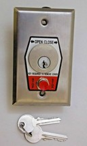 FKM-3S Surface Mounted Open/Close W/ Stop Automatic Gate Switch With Keys - $45.00