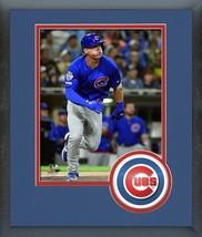 "Nico Hoerner 2019 Chicago Cubs ""Home Run"" -11x14 Team Logo Matted/Framed... - $42.95"