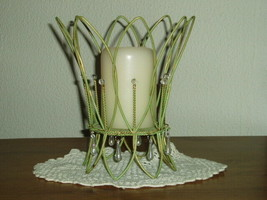 PartyLite Verdant Lights Pillar Holder Party Lite - $9.99