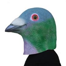 Pigeon Mask Helmet Halloween Cosplay Season Natural Platex Green Bird - $38.08 CAD