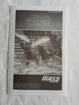 Star Wars Epic Duels Game Replacement Pieces Instructions 2002 - $4.83