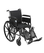 Drive Medical Cruiser III With Full Arms and Leg Rests 18'' - $184.15
