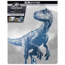 Jurassic World: Fallen Kingdom Steelbook (4K Ultra HD + Blu-ray)