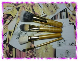 RARE MAC Heirlooms Collection: 4 Face Brushes Set, 168/187/190/194, Brus... - $49.99