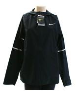 Nike Zonal AeroShield Black Zip Front Hooded Running Jacket Women's NWT - $131.24