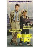 Nothing to Lose VHS Martin Lawrence Tim Robbins - $4.90