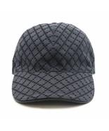Gucci Diamante Grey / Black  Men's Baseball Hat XL - $299.00