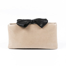 Chanel Lambskin Bow Clutch - $1,139.48 CAD