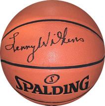 Lenny Wilkens signed Spalding NBA Game Ball Series I/O Basketball JSA Wi... - $99.95