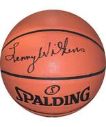 Lenny Wilkens signed Spalding NBA Game Ball Series I/O Basketball JSA Wi... - $119.95