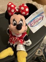 "New 1990s Disney Store Plush Beanie Soft 9"" Classic Minnie Mouse Souvenir - $9.90"