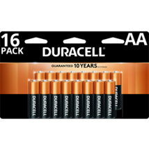 Duracell Coppertop MN1500 AA 2850 mAh Single Use Batteries - 16 pack - $10.99