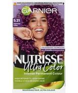 Garnier Nutrisse Ultra Color 5.21 INTENSE LILAC Permanent Hair Dye BRIGH... - $15.24
