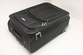 Samsonite Advena Expandable Softside Upright 21 Inch Black Padded Top An... - $1.104,80 MXN
