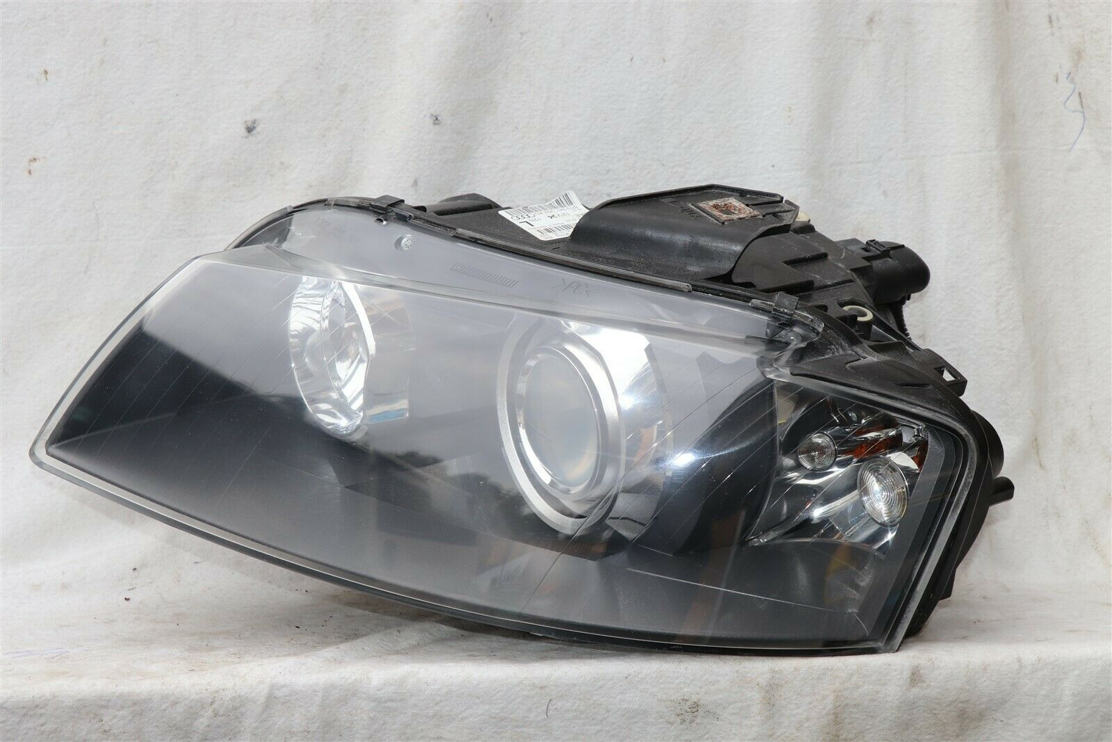 06-08 Audi A3 Xenon HID Headlight Head Light Lamp Driver Left LH POLISHED
