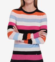 $79.5  Tommy Hilfiger Striped Shine Sweater Multicolor L/G - $52.46