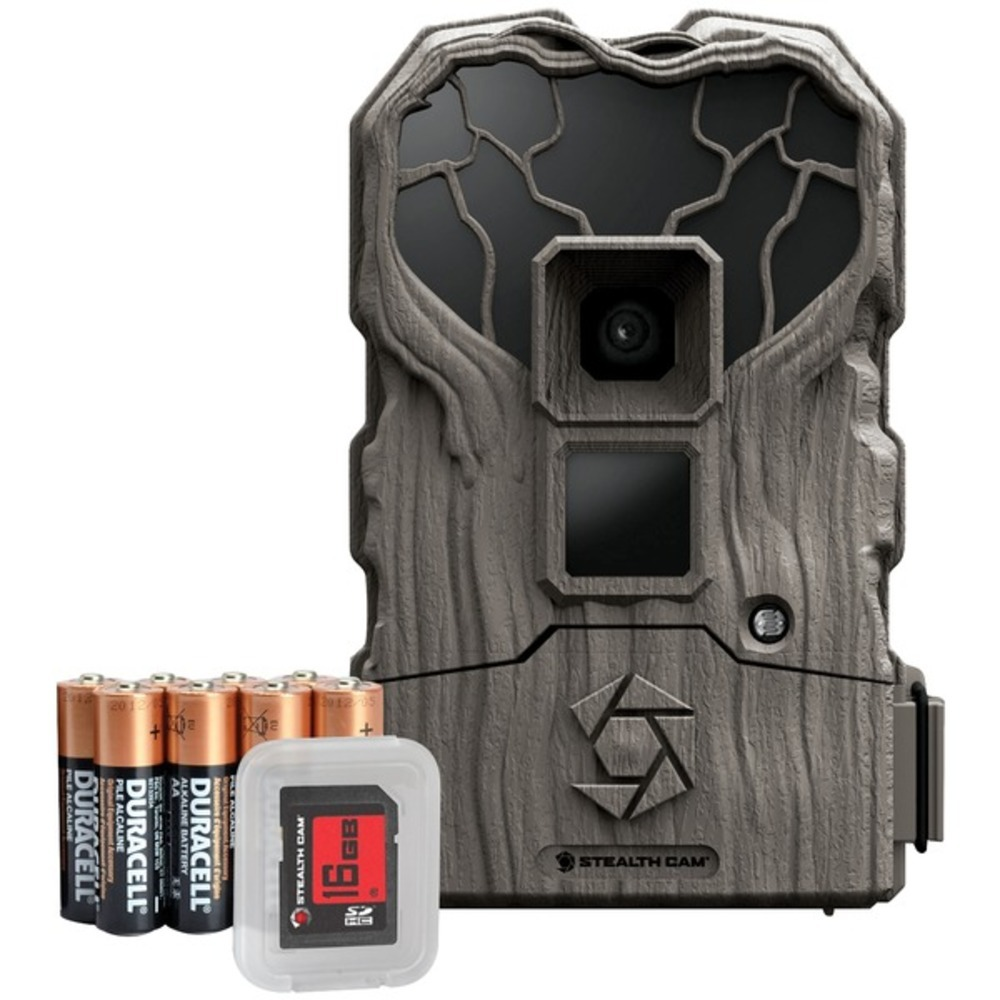 Stealth Cam STC-QS24NGKX QS24NGX 14.0-Megapixel NO GLO Trail Camera Combo