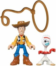 Toy Story Fisher-Price Disney Pixar 4 4 Woody & Forky - $13.99