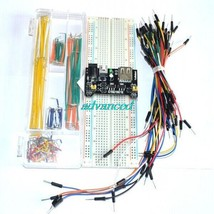 3.3V/5V Breadboard power module+MB-102 830 points Bread board kit +65 Fl... - $12.94