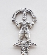 Collector Souvenir Spoon Christmas 1993 Nutcracker Toy Soldier Figural Repousse - $4.99