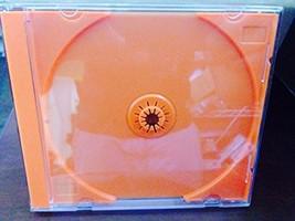 50 Pack Premium Standard Single Orange CD DVD Blu Ray Jewel 10mm Cases U... - £15.67 GBP