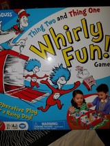 Dr. Seuss Thing Two and Thing One Whirly Fun! kids Game - $10.39