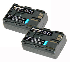 BATTERYx2 for CANON BP-512 EOS KISS 10D 1D 5D 20D MV300 MV100Xi Camera B... - $14.17