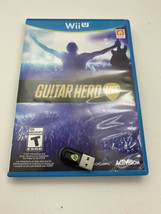 Guitar Hero Live (Wii U, 2015) Game Disc and Dongle Receiver ONLY - $16.82