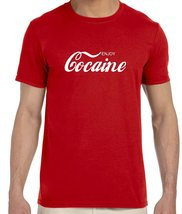 Enjoy Cocaine Funny Men's T-Shirt - $14.95+